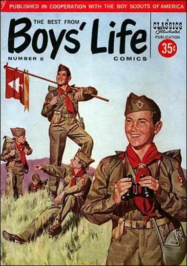 Best from Boys' Life Comics 5-A by Gilberton