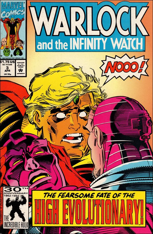 Warlock and the Infinity Watch 3-A by Marvel