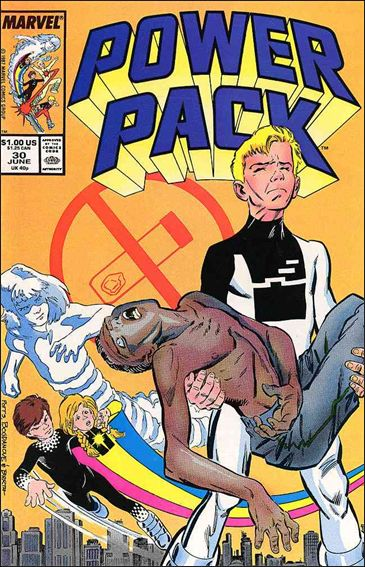Power Pack (1984) 30-A by Marvel