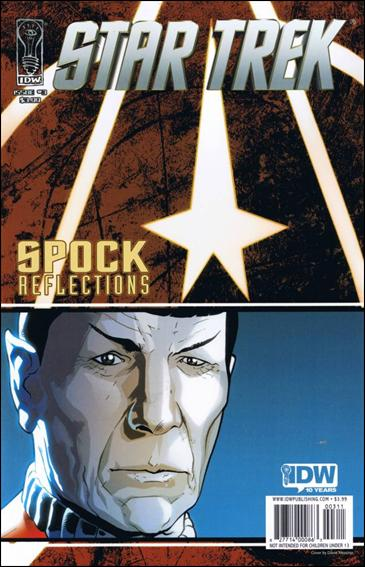 Star Trek: Spock: Reflections 3-A by IDW