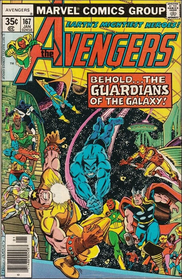 Avengers (1963) 167-A by Marvel