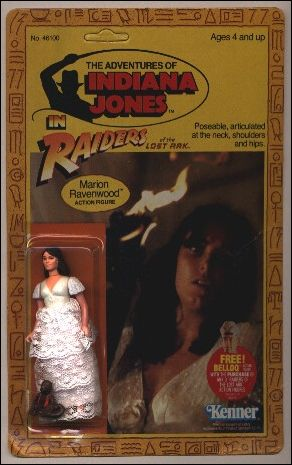 Adventures of Indiana Jones Marion Ravenwood (4-back/Belloq Mail-Away Offer) by Kenner