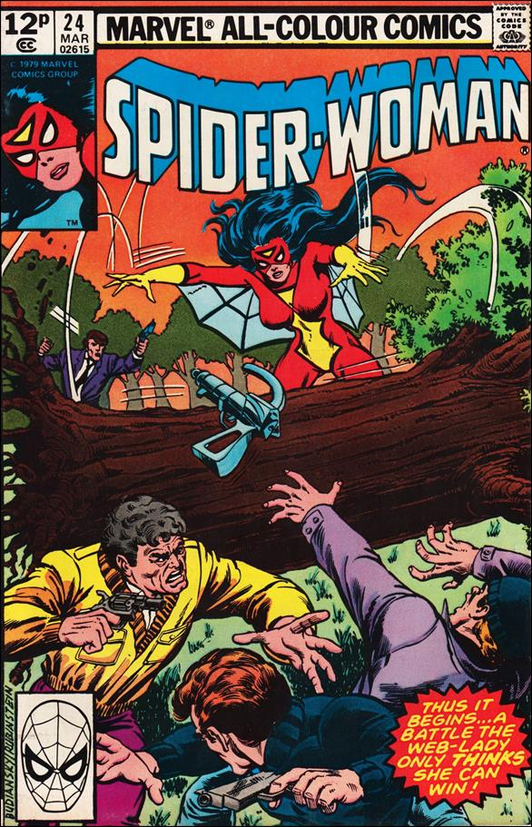 Spider-Woman (1978) 24-B by Marvel
