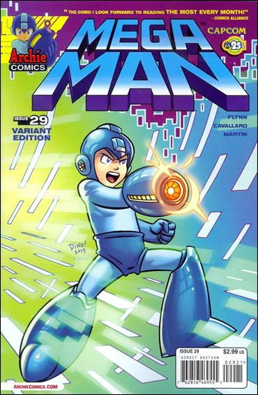 Mega Man 29-B by Archie