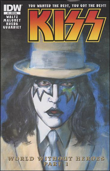 Kiss (2012) 3-C by IDW