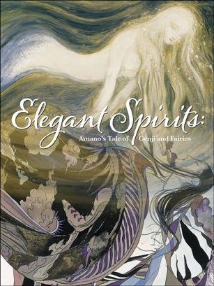 Elegant Spirits: Amano's Tale of Genji and Fairies nn-A
