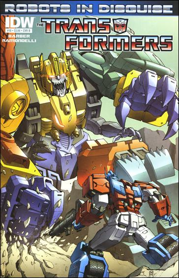 Transformers: Robots in Disguise 10-B by IDW