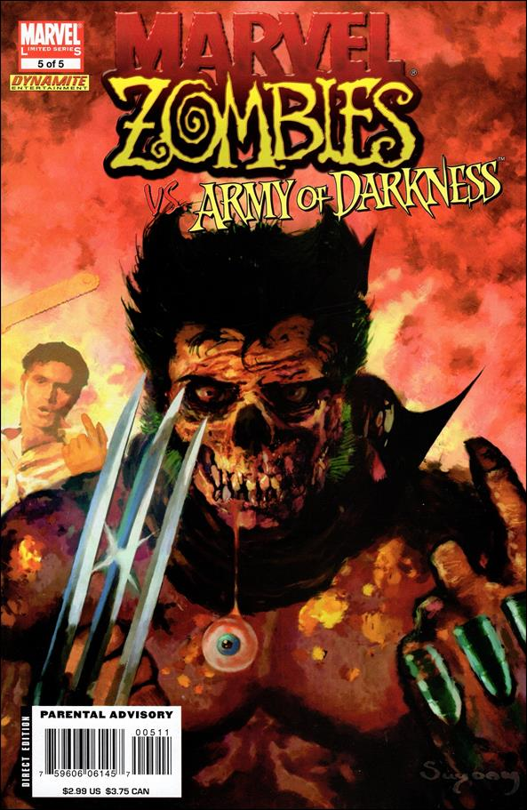 Marvel Zombies/Army of Darkness 5-A by Marvel
