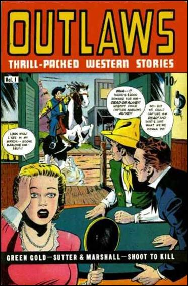 Outlaws (1948) 9-A by D.S. Publishing