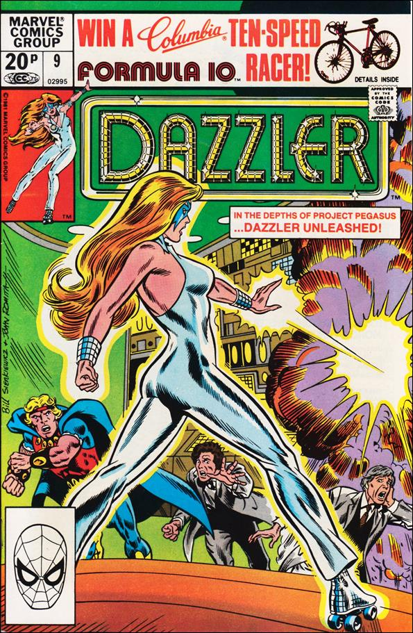 Dazzler (1981) 9-B by Marvel