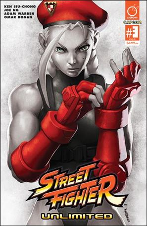 Street Fighter Unlimited 3-D