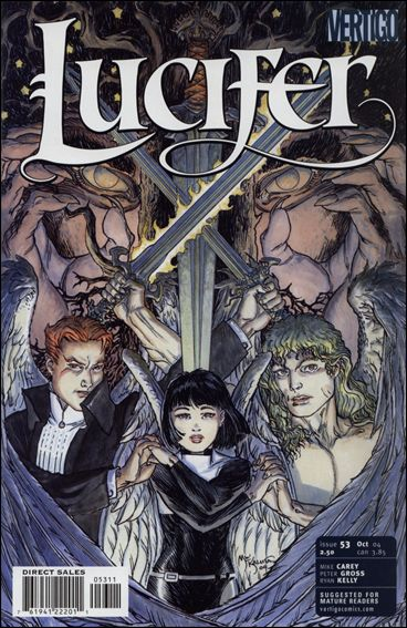 Lucifer (2000) 53-A by Vertigo