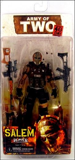 Army of Two Salem by NECA