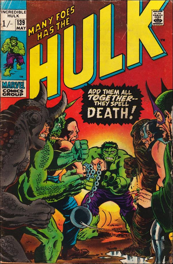 Incredible Hulk (1968) 139-B by Marvel