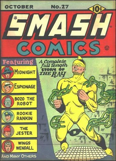 Smash Comics (1939) 27-A by Quality