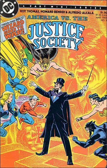 America vs the Justice Society 3-A by DC