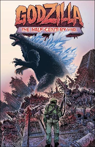 Godzilla: The Half-Century War nn-A by IDW