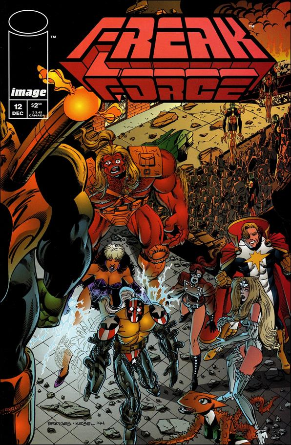 Freak Force (1993) 12-A by Image