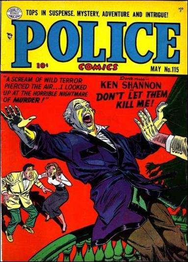 Police Comics 115-A by Comic Magazines
