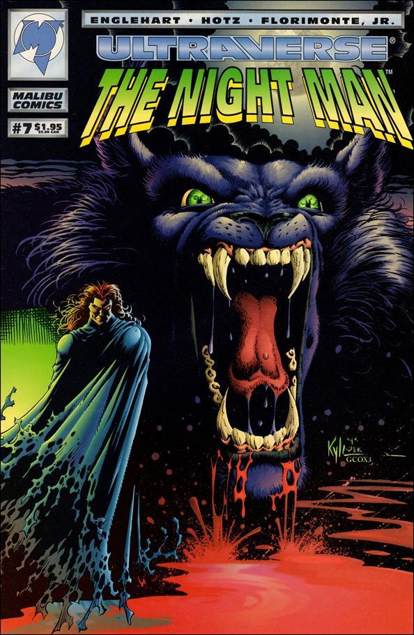 Night Man (1993) 7-A by Malibu