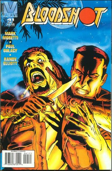 Bloodshot (1993) 41-A by Valiant