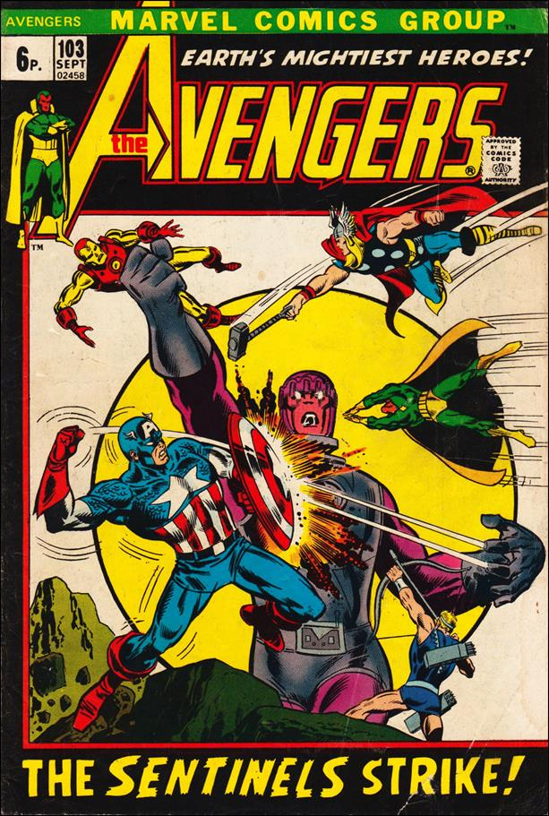 Avengers (1963) 103-B by Marvel