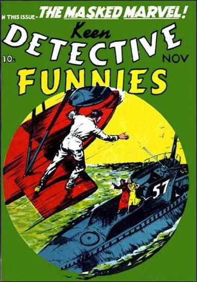 Keen Detective Funnies (1939) 11-A by Centaur Publications Inc.