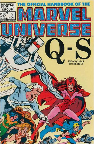 Official Handbook of the Marvel Universe (1983) 9-A by Marvel