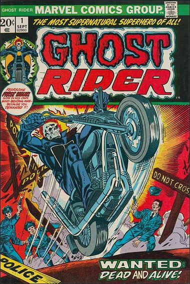 Ghost Rider (1973) 1-A by Marvel