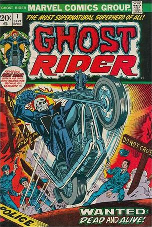 Ghost Rider (1973) 1-A