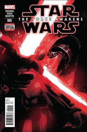Star Wars: The Force Awakens Adaptation 5-A