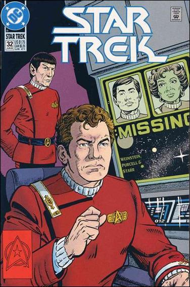 Star Trek (1989) 32-A by DC
