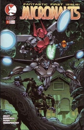 Micronauts (2004) 1-A by Devil's Due