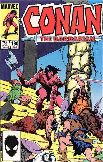 Conan the Barbarian (1970) 180-A by Marvel