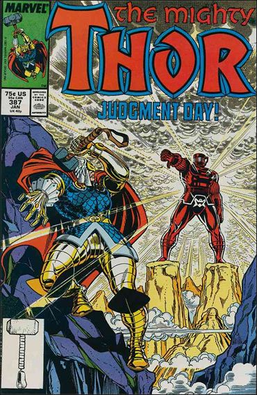 Thor (1966) 387-A by Marvel