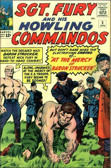 Sgt. Fury and His Howling Commandos 5-A by Marvel