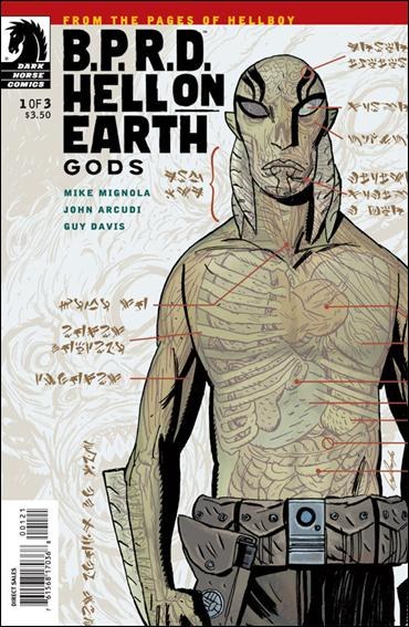 B.P.R.D. Hell on Earth: Gods 1-B by Dark Horse