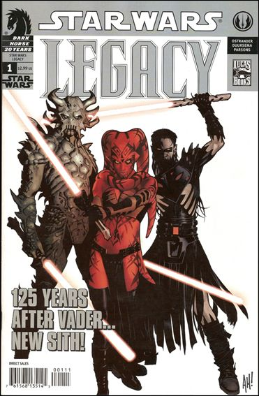 Star Wars: Legacy (2006) 1-C by Dark Horse