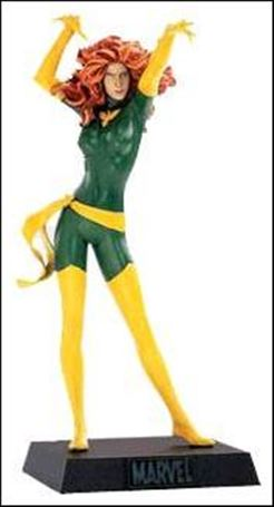 Classic Marvel Figurine Collection (UK) Phoenix (Green and Yellow Costume)