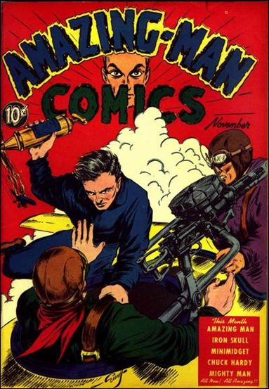 Amazing Man Comics 7-A by Centaur Publications Inc.