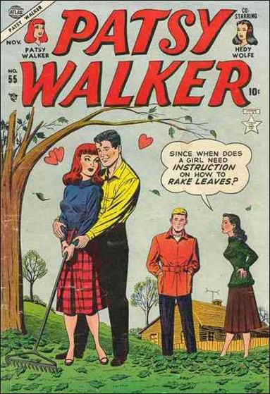 Patsy Walker 55-A by Marvel