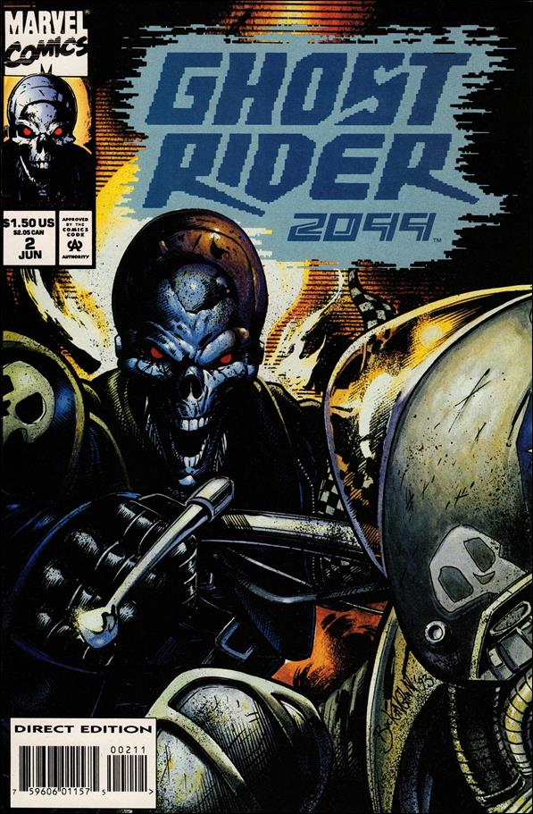 Ghost Rider 2099 2-A by Marvel