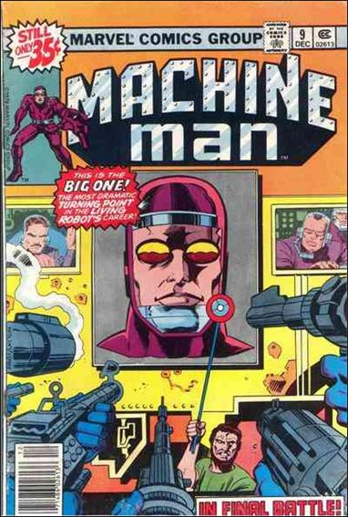 Machine Man (1978) 9-A by Marvel
