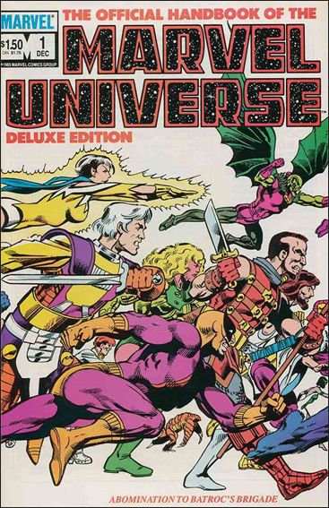 Official Handbook of the Marvel Universe (1985) 1-A by Marvel
