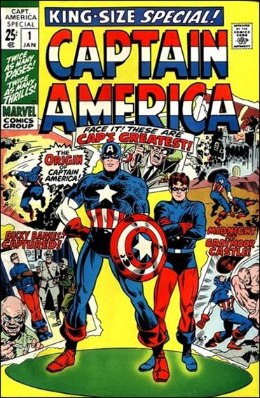 Captain America Annual 1-A by Marvel