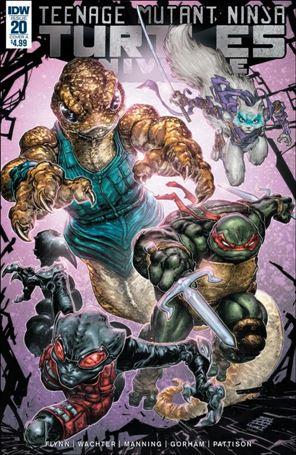 Teenage Mutant Ninja Turtles Universe 20-A