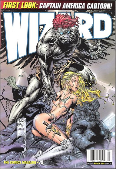 Wizard: The Comics Magazine 79-B by Wizard Press