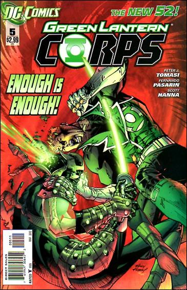 Green Lantern Corps (2011) 5-A by DC