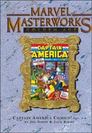 Marvel Masterworks: Golden Age Captain America 1-B