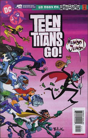 Teen Titans Go! (2004) 12-A by DC